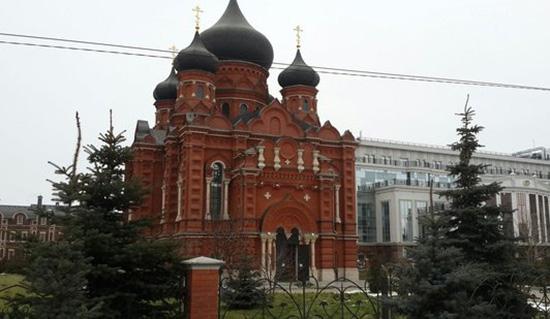 Успенский кафедральный собор Тула