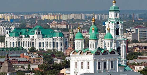 Астраханский кремль история
